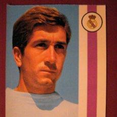 Coleccionismo deportivo: MANUEL VELÁZQUEZ VILLAVERDE - JUGADOR REAL MADRID - POSTAL -. Lote 40333966