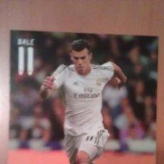 Coleccionismo deportivo: POSTAL DE BALE CON EL REAL MADRID - GOLY. Lote 40771995