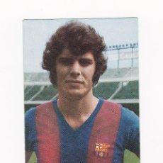 Coleccionismo deportivo: POSTAL 10.5 X 15 CM. - JOSE ANTONIO BARRIOS (BARCELONA) AÑOS 60-70'S PUBLICIDAD WILLIAMS. Lote 40877049