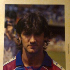 Coleccionismo deportivo: BAKERO - BARÇA - FC BARCELONA - POSTAL GRAN TAMAÑO (34X24 CM APROX.) - AÑOS 90. Lote 41142206