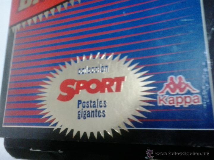 Coleccionismo deportivo: CARPETA CON MUCHAS POSTALES GIGANTES DEL BARCELONA - DEL SPORT Y DEL MUNDO DEPORTIVO - Foto 5 - 41299260