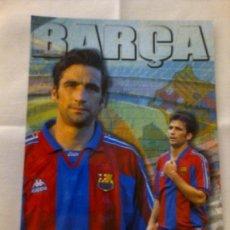 Coleccionismo deportivo: POSTAL BARÇA JUGADOR PIZZI FC BARCELONA TAMAÑO 12X17 CM APROX.. Lote 41365918