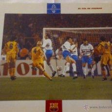 Coleccionismo deportivo: LAMINA BARÇA - EL GRAN ALBUM - LA VANGUARDIA - EL GOL DE KOEMAN - Nº 52. Lote 41366141