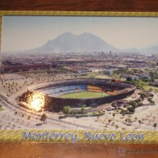 Coleccionismo deportivo: POSTAL ESTADIO DE FUTBOL UNIVERSITARIO MONTERREY - MEXICO - POSTCARD STADIUM. Lote 41461114