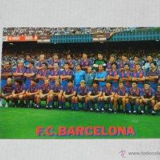 Coleccionismo deportivo: POSTAL FC BARCELONA - PLANTILLA 1987 - 88 , CIRCULADA. Lote 41728586