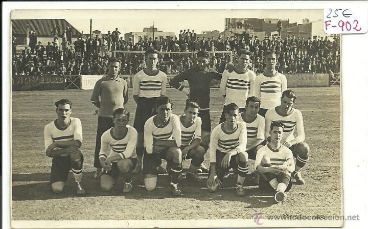 (F-902)EQUIPO DE FOOT-BALL U.D.SANS???AÑOS 20-30 (Coleccionismo Deportivo - Postales de Deportes - Fútbol)