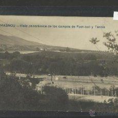Coleccionismo deportivo: MASNOU - VISTA PANORAMICA DE LOS CAMPO DE FUTBOL Y TENNIS - FOTOGRAFICA - (2784). Lote 42329868