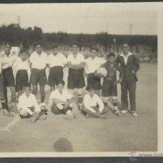 Coleccionismo deportivo: MASNOU - FUTBOL - SELLO EN SECO MELENDRA - FOTOGRAFICA - (20649). Lote 42462222