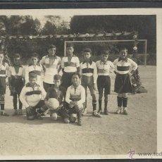 Coleccionismo deportivo: MASNOU - FUTBOL - SELLO EN SECO MELENDRA - FOTOGRAFICA - (20650). Lote 42462241