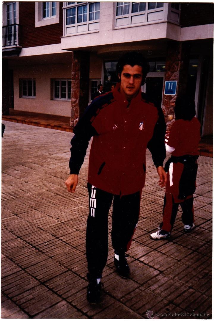 FOTOGRAFIA KIKO.AT MADRID. (Coleccionismo Deportivo - Postales de Deportes - Fútbol)