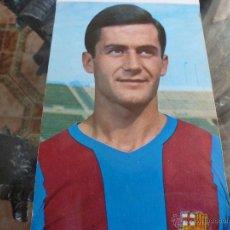 Coleccionismo deportivo: F.C.BARCELONA POSTAL 1969-BARÇA-ANTONIO TORRES. Lote 42979102