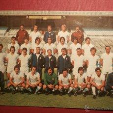 Coleccionismo deportivo: ANTIGUA POSTAL EQUIPO DE FUTBOL REAL MADRID C.F. - PLANTILLA TEMPORADA 1977 - 1978 - 20,5 X 14,5 CM. Lote 43300062