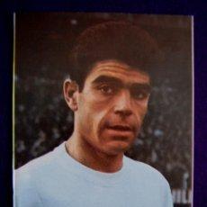 Coleccionismo deportivo: POSTAL DE SANCHIS, REAL MADRID. EDITADA POR BERGAS. AÑO 1967. Lote 43364542