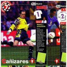 Coleccionismo deportivo: COLECCION 27 POSTALES POST CARD REAL MADRID CAMPEON COPA EUROPA SEPTIMA UEFA CHAMPIONS LEAGUE. Lote 149599064