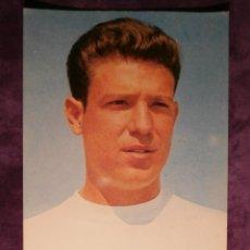 Coleccionismo deportivo: RAMÓN GROSSO - JUGADOR REAL MADRID - POSTAL - DE 1964 AL 76 - SIN ESCRIBIR NI CIRCULAR -. Lote 43484829