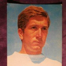 Coleccionismo deportivo: MANUEL VELAZQUEZ - JUGADOR REAL MADRID - POSTAL - DE 1965 AL 77 - SIN ESCRIBIR NI CIRCULAR -. Lote 43484986