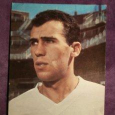 Coleccionismo deportivo: AMANCIO - JUGADOR REAL MADRID - POSTAL - DE 1963 AL 76 - SIN ESCRIBIR NI CIRCULAR -. Lote 43519298