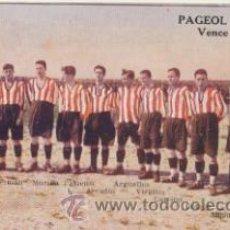 Coleccionismo deportivo: REAL SPORTING DE GIJÓN. CAMPEÓN DE ASTURIAS 1922-23. LABORATORIOS URODONAL.. Lote 43579366