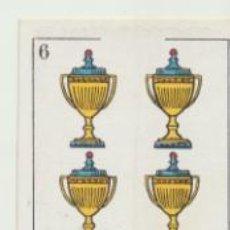 Coleccionismo deportivo: BARAJA DE FUTBOL AMATLLER. 6 DE COPA.. Lote 43581157