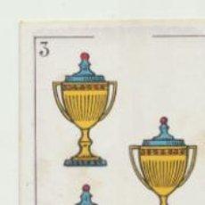 Coleccionismo deportivo: BARAJA DE FUTBOL AMATLLER. 3 DE COPA.. Lote 43581171
