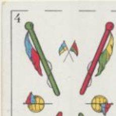 Coleccionismo deportivo: BARAJA DE FUTBOL AMATLLER. 4 DE BASTOS.. Lote 43581201