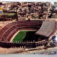 Coleccionismo deportivo: ANTIGUA POSTAL ESTADIO FC. BARCELONA. BARÇA. NOU CAMP. AÑOS 1960. Lote 43798872