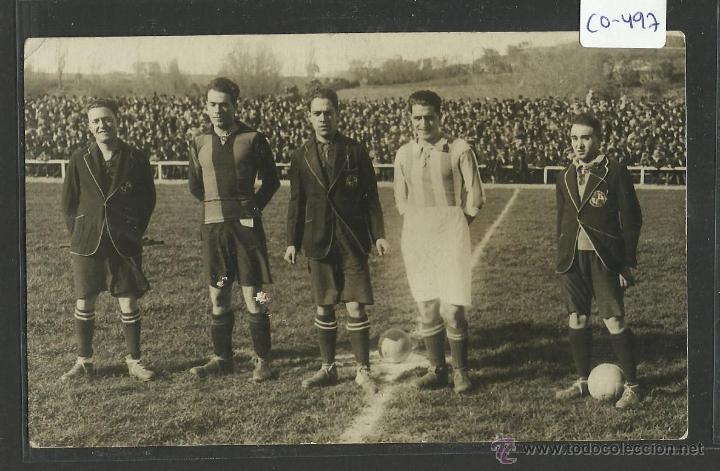 PARTIDO DEL BARÇA - FOTOGRAFICA ALVARO LIMON 20 MADRID - (CD-497) (Coleccionismo Deportivo - Postales de Deportes - Fútbol)