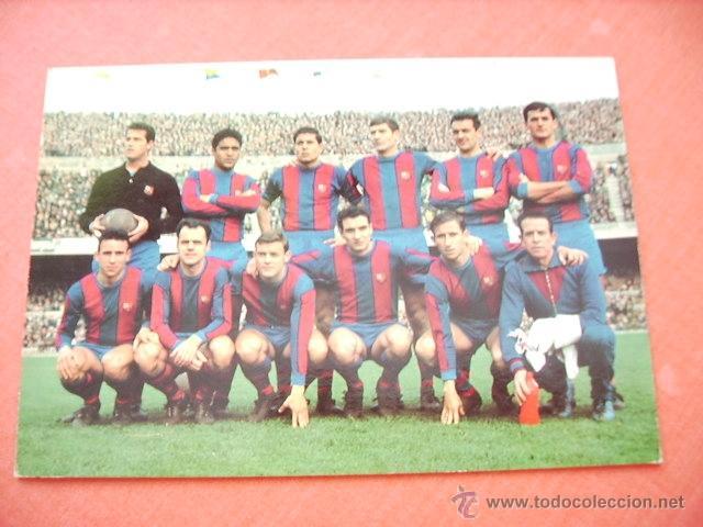 BARCELONA --POSTAL BARCELONA C.F. (Coleccionismo Deportivo - Postales de Deportes - Fútbol)