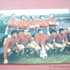 Coleccionismo deportivo: POSTAL ESPAÑA COPA MUNDO 1978. Lote 44001279