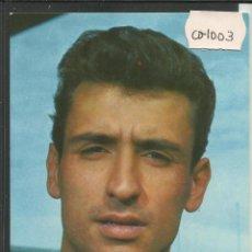 Coleccionismo deportivo: SADURNI - C.F. BARCELONA - CON AUTOGRAFO - FOTO SEGUI - (CD-1003). Lote 45408461