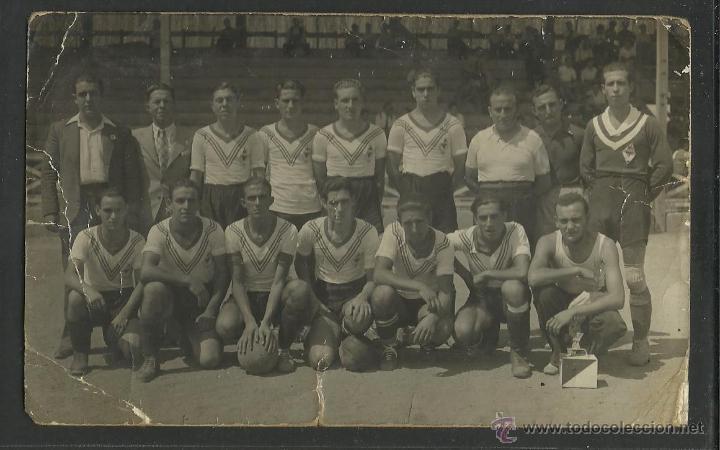 U.D. SANS (??) - FOTOGRAFICA - (CD-883) (Coleccionismo Deportivo - Postales de Deportes - Fútbol)
