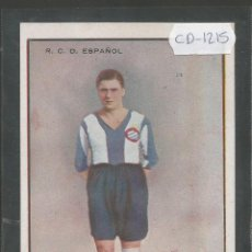 Coleccionismo deportivo: LAKATOS - JUGADOR R.C.D. ESPAÑOL - (CD-1215). Lote 45760544