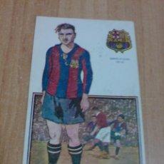 Coleccionismo deportivo: POSTAL FUTBOL JUGADOR DEL BARCELONA - FRANCISCO VIÑALS (CAMPEON ESPAÑA 1921 - 22) VER ADICIONAL. Lote 46024317