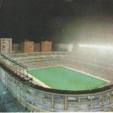 Coleccionismo deportivo: POSTAL ESTADIO DE FUTBOL SANTIAGO BERNABEU, VISTA NOCTURNA. MADRID.. Lote 46194414