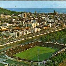 Coleccionismo deportivo: POSTAL ESTADIO DE FUTBOL MÁLAGA. 125 VISTA PARCIAL AÉREA. CIRCULADA. GARCIA GARRABELLA.. Lote 132993287