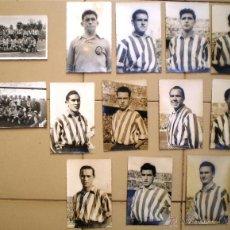 Coleccionismo deportivo: FOTOGRAFIAS ORIGINALES DE LOS JUGADORES ATLETICO DE BILBAO DE LOS AÑOS 50 MAS DOS FOTOS D PLATILLA. Lote 46397330