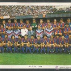 Coleccionismo deportivo: POSTAL GIGANTE - C.F. BARCELONA PLANTILLA- (CD-1187). Lote 46472518