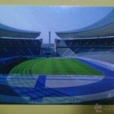 Coleccionismo deportivo: POSTAL ESTADIO OLYMPIASTADION (BERLIN - ALEMANIA) HERTHA DE BERLIN - SIN CIRCULAR. Lote 46831889