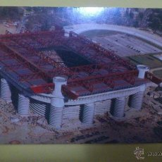 Coleccionismo deportivo: POSTAL ESTADIO SAN SIRO - MILAN (ITALIA) VISTA AEREA. Lote 46832253