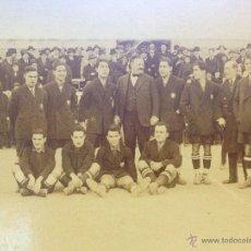 Coleccionismo deportivo: FOTO POSTAL HOMENAJE A JOAN GAMPER Y PLANTILLA DEL FUTBOL CLUB FC BARCELONA F.C BARÇA CF 1923. Lote 46928264