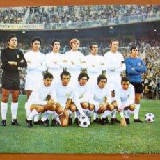 Coleccionismo deportivo: REAL MADRID 1972 - FOTO POSTAL TAMAÑO 21X15. Lote 46998105