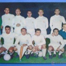 Coleccionismo deportivo: POSTAL DEL REAL MADRID CLUB DE FÚTBOL. TEMPORADA 1959 1960. DI STEFANO, GENTO, PUSKAS. 565 . Lote 47015843