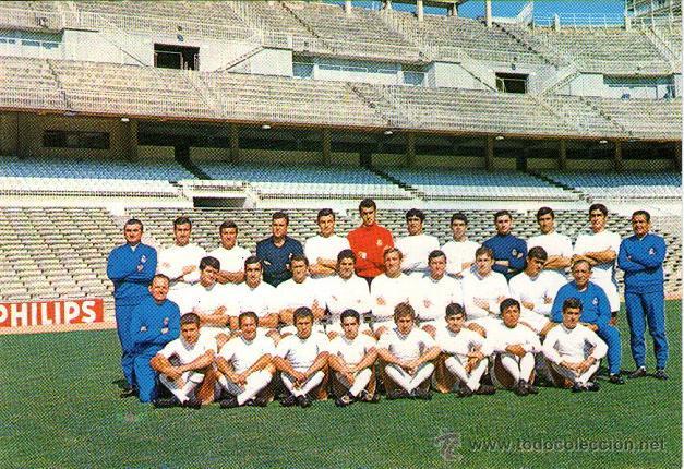 Resultado de imagen de real madrid 1969-70