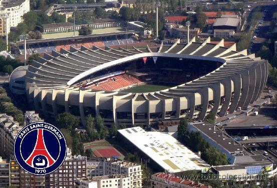Postal estadio parc des princes paris saint ge comprar - Parc des princes porte de saint cloud ...