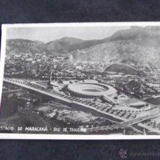 Coleccionismo deportivo: ESTADIOS DE FUTBOL-V24-ESTADIO DE MARACANA-RIO DE JANEIRO-BRASIL-140X90MM.. Lote 47758535