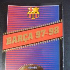 Coleccionismo deportivo: BARÇA 97 - 98. FUTBOL CLUB BARCELONA. COLECCION SPORT POSTALES GIGANTES. 21 X 30 CMS. 750 GRAMOS. CO. Lote 48002804