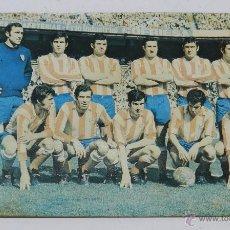 Collezionismo sportivo: FOTO POSTAL DEL ATLETICO DE MADRID, N 324, LUIS ARAGONES, ED. BERGAS, AÑOS 70, HA ESTADO PEGADA Y SU. Lote 48095973