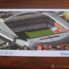 Coleccionismo deportivo: POSTAL ESTADIO SAN MAMES BILBAO - REF BIZ1029 - MEDIDAS 11.5X21 CM.. Lote 48209700