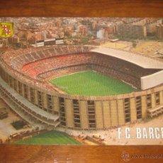 Coleccionismo deportivo: POSTAL ESTADIO CAMP NOU (FC BARCELONA BARÇA) ESCUDO DE ORO 506. Lote 295525703