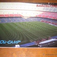 Coleccionismo deportivo: POSTAL ESTADIO CAMP NOU (FC BARCELONA BARÇA) EDITADA EN FRANCIA MNC-266 BARCELONE. Lote 48219893